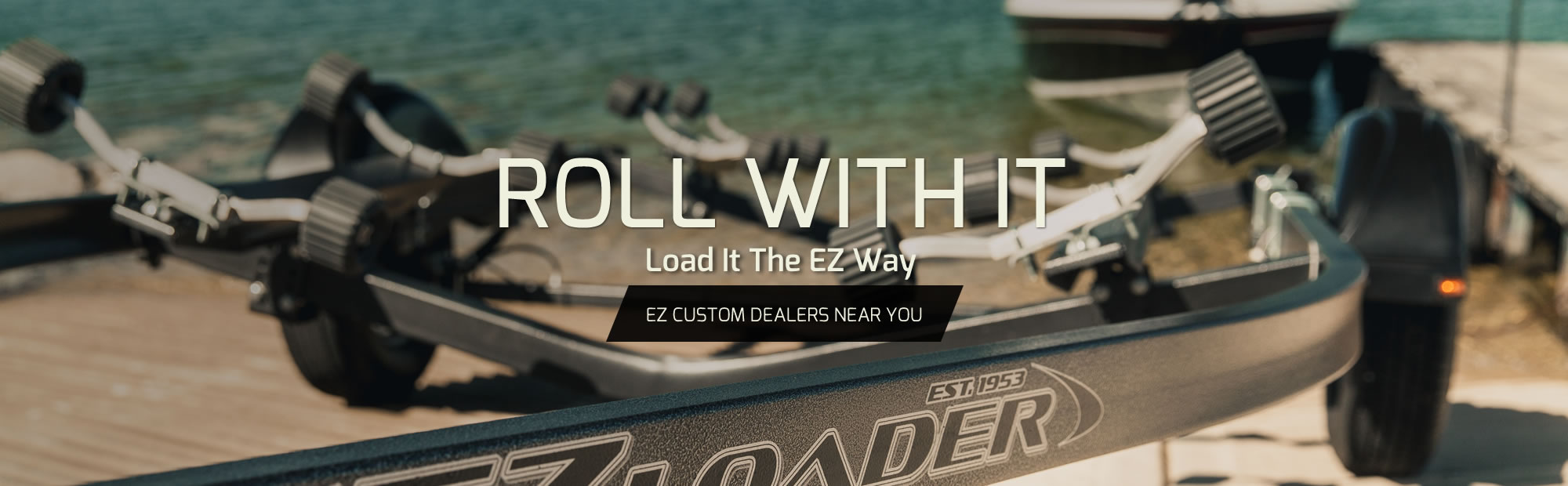 EZ Loader Custom & Adjustable Boat Trailers