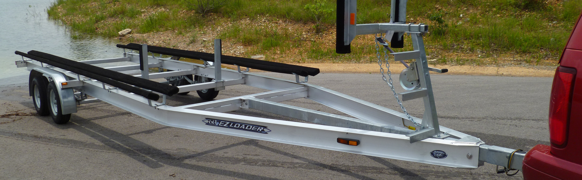 Aluminum Ez Loader Custom Adjustable Boat Trailers